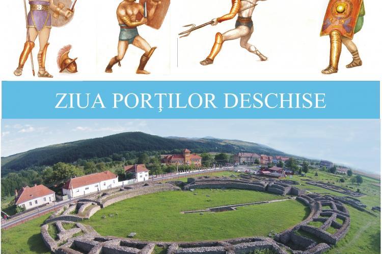 Ziua Porților Deschise la Colonia Dacica Sarmizegetusa, în luna august