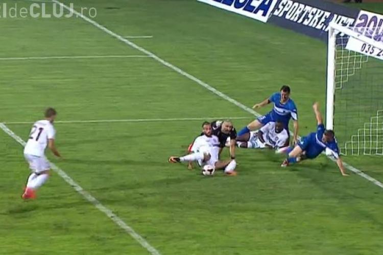 JAGODINA - CFR CLUJ 0-1 - REZUMAT VIDEO - Gol bâlbâit, dar clujenii merg mai departe în Europa League