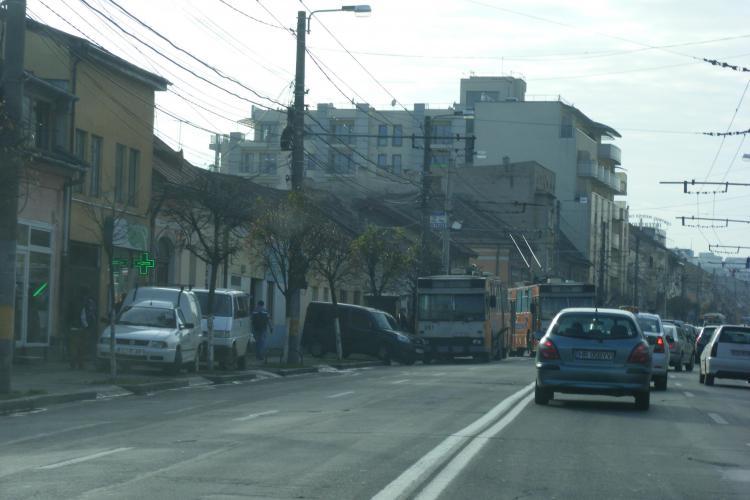 """Strada Moților va fi o stradă """"model"""" a Clujului. Dispar stâlpii de la Electrica și va fi pus pavaj"""