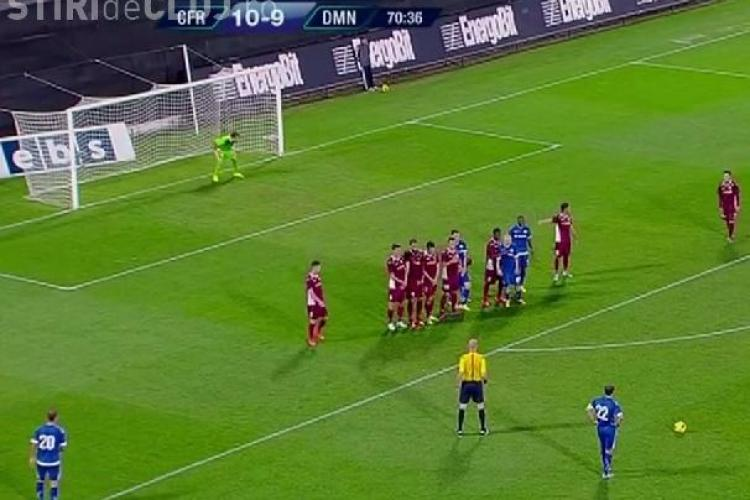 CFR Cluj învinsă acasă de Dinamo Minsk. Clujenii au jucat în 10 oameni trei sferturi din meci REZUMAT VIDEO