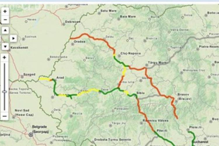 VEZI harta interactivă cu toate AUTOSTRĂZILE DIN ROMÂNIA, terminate sau care se află în lucru