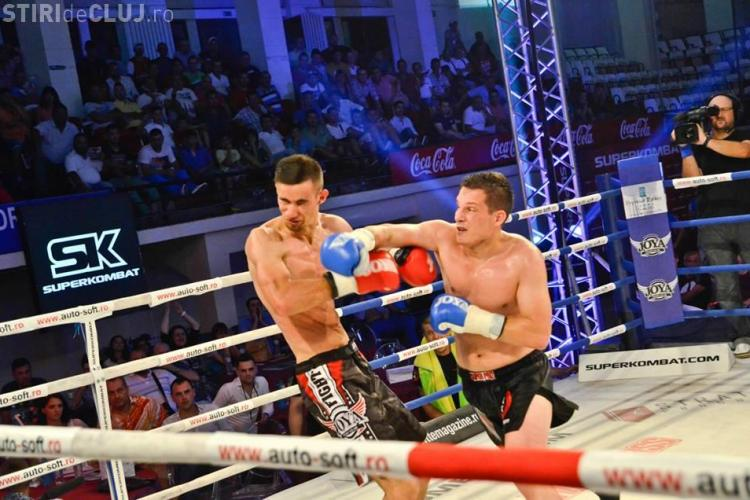 Sportivul clujean Dorin Stan a câștigat meciul de la Gala Superkombat World Grand Prix - VIDEO