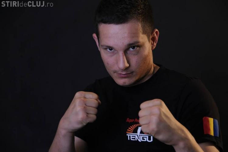 Un sportiv din Cluj va lupta în Gala internationață de kickbox SUPERKOMBAT World Grand Prix