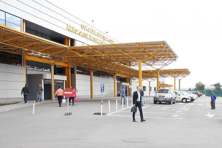 Aeroportul Cluj va accesa un credit de 50 de milioane de lei, de la CEC Bank