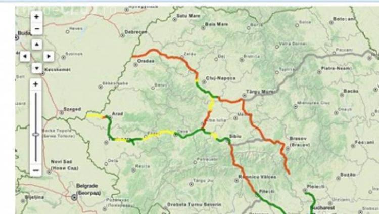 Vezi Harta Interactivă Cu Toate Autostrăzile Din Romania