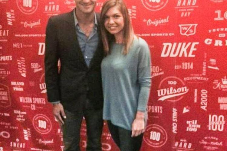 Simona Halep s-a fotografiat cu Roger Federer. Va cuceri US Open?