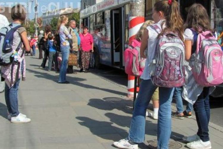 Cluj: Cum se eliberează abonamentele gratuite pentru elevi? Vor fi 19.500 de beneficiari