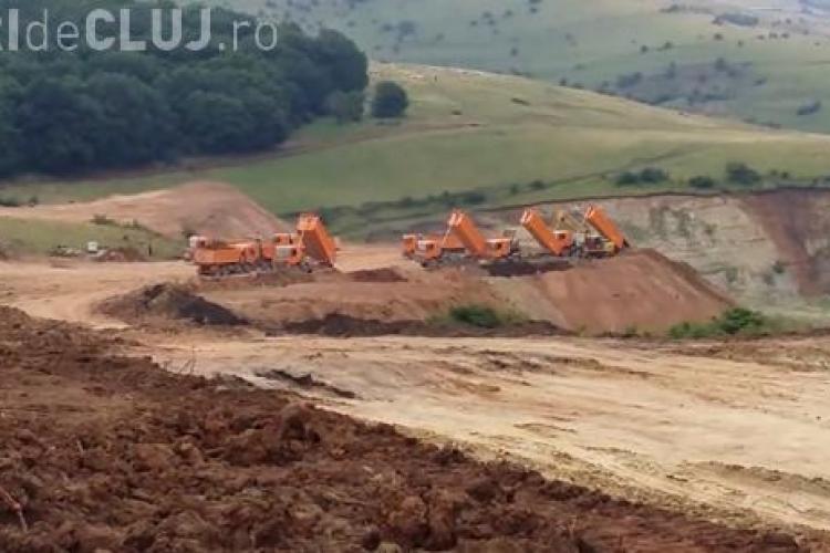 """Victor Ponta vine în """"inspecție"""" la Cluj. Vizitează șantierul de lucru de pe Autostrada Transilvania"""