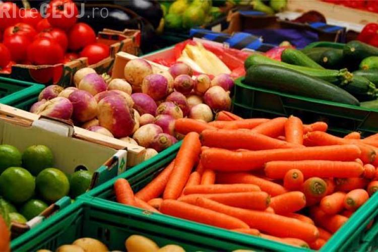 Prețurile din Piața Agro Transilvania - Dezmir sunt cele mai mici
