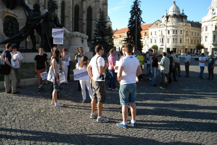 PROTEST la Cluj față de ordonanța care legiferează migrația primarilor