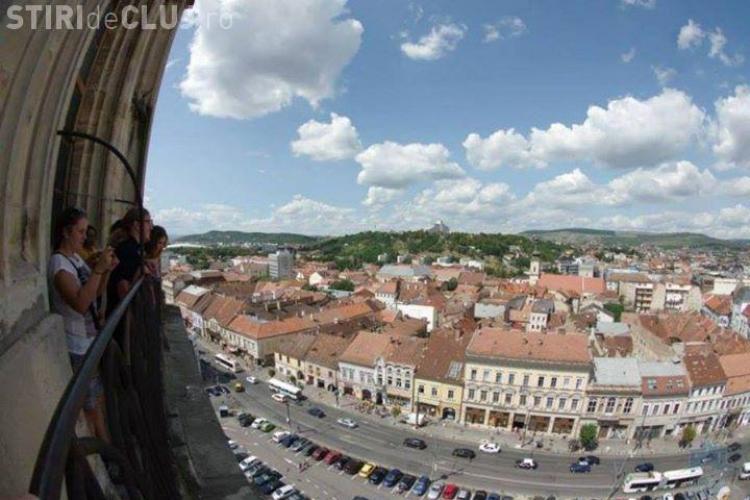 Turnul Bisericii Sfântul Mihail poate fi vizitat zilnic. Este deschis numai câteva zile - FOTO