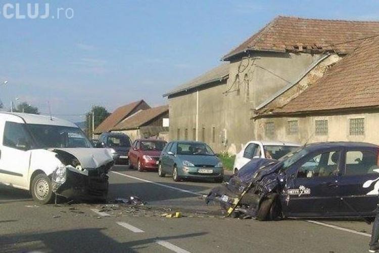 Accident la Răscruci! O femeie aproape a leșinat la volan - VIDEO