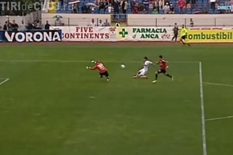 FC Botoşani - Universitatea Cluj 1-0 - REZUMAT VIDEO - Clujenii au pierdut după un penaly eronat