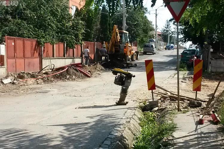 Incursiune pe strada Jiului, unde e șantier de câteva luni! Veștile sunt PROASTE - FOTO