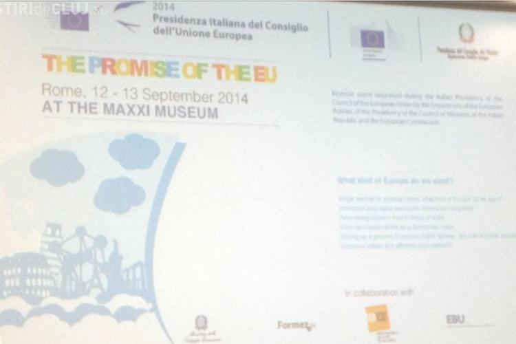 Emil Boc a promovat Capitală Europeană a Tineretului (2015) la Roma