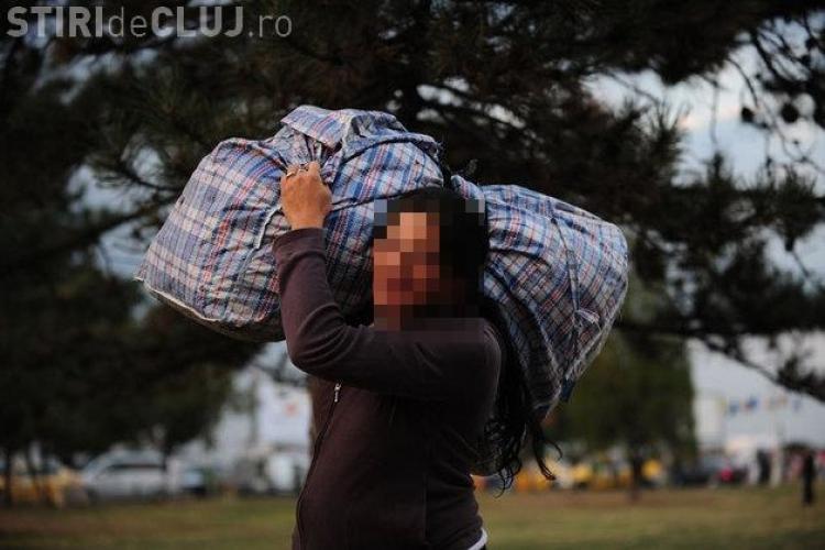 Razie a Poliției Locale în cartierele Mănăştur şi Zorilor! A fost evacuată o tabără de țigani