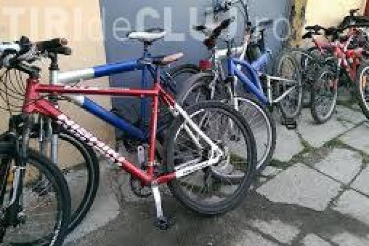 Au fost prinși hoții de biciclete din Piața Lucian Blaga