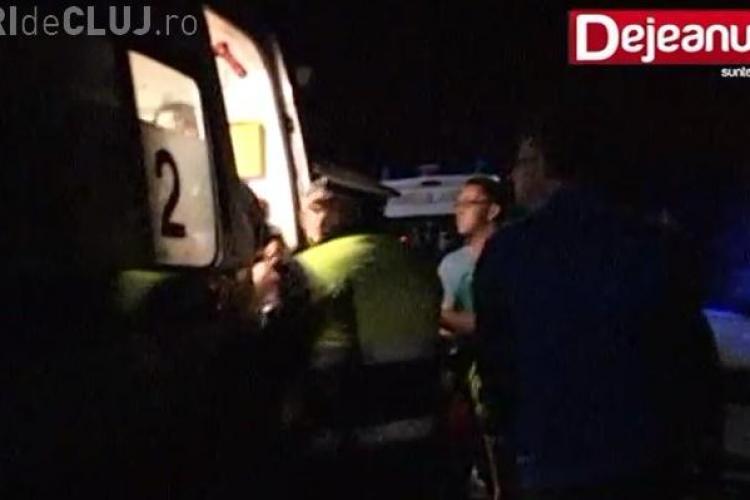 Medicii serviciului de ambulanță Cluj aproape bătuți la un accident. Rudele victimei i-au urmărit până la spital VIDEO