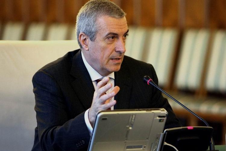 Tăriceanu vrea să îl suspende pe Băsescu, cu referendum la 2 noiembrie
