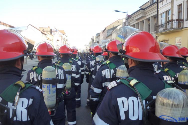 Ziua Pompierilor sărbătorită în weekend la Cluj. Ce activități vor avea loc