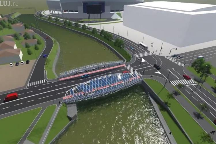 Cum va arata Podul Garibaldi? Îl preferați cu ARCADE sau SIMPLU? - VIDEO