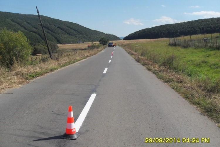 Aproape 110 milioane de lei cheltuiți pentru drumurile județene din Cluj