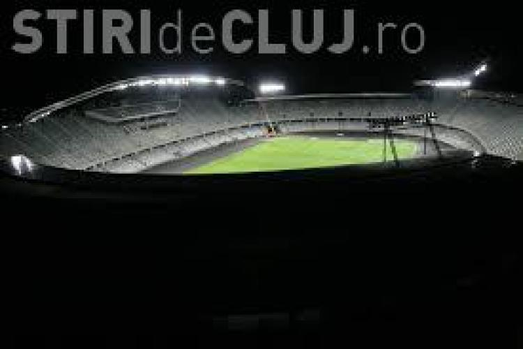 Cluj Arena nu folosește iluminatul arhitectural pentru că nu are BANI să achite factura