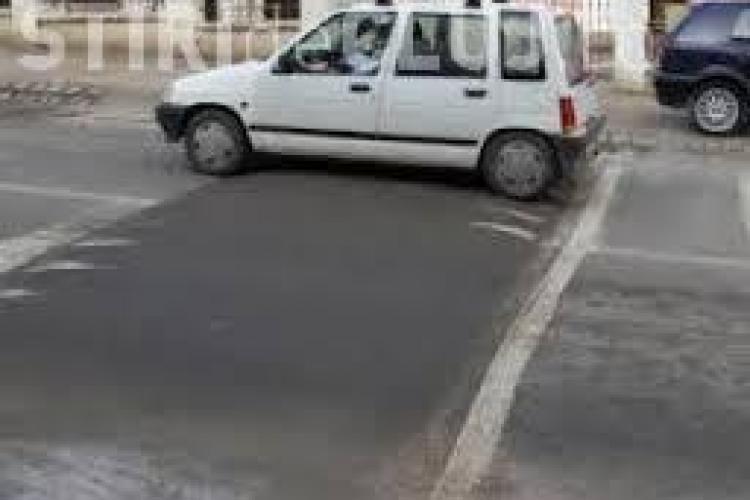 """""""Surprize"""" din partea Primăriei pentru șoferii clujeni. Unde au fost montate 9 noi praguri de sol"""