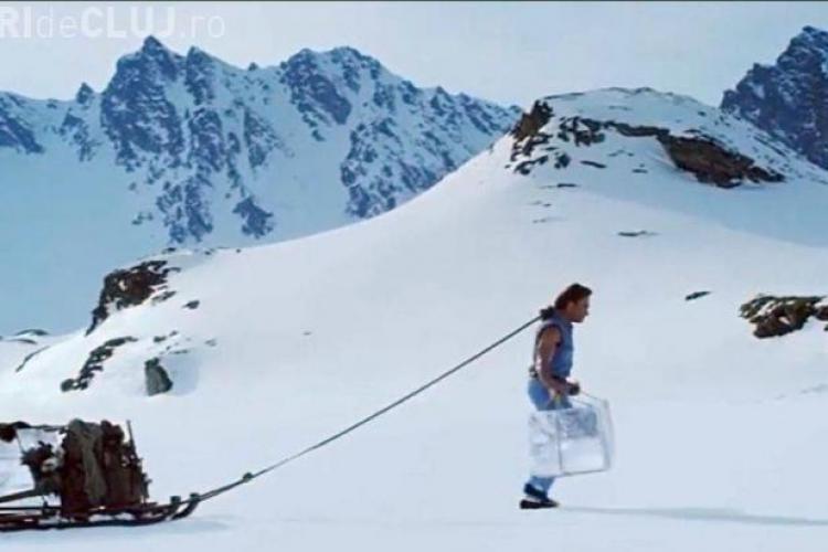 Jean Claude van Damme a filmat o reclamă la Bâlea Lac - VIDEO