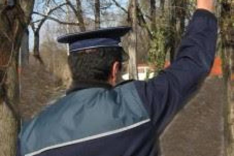 Hoți de lemne la Ciurila - Poliția a tras cu pistolul după hoții de lemne