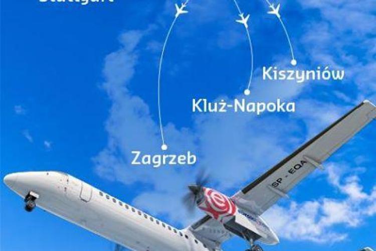 O nouă companie vine pe Aeroportul Cluj și aduce zboruri spre Polonia