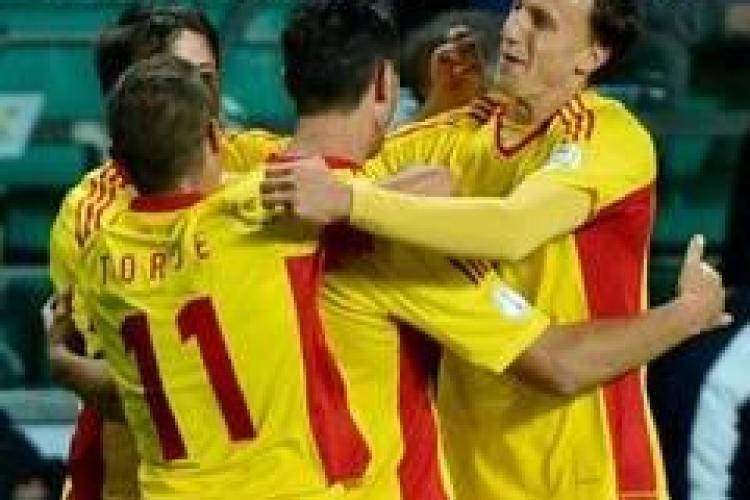 VICTORIE pentru naționala României. Au învins Grecia în preliminariile pentru EURO 2016 REZUMAT VIDEO