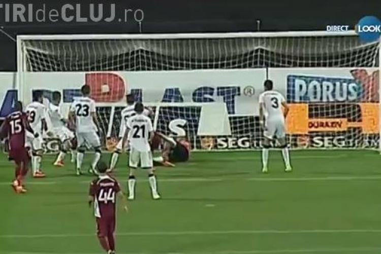 CFR Cluj a învins Gaz Metan cu 4-1! REZUMAT VIDEO