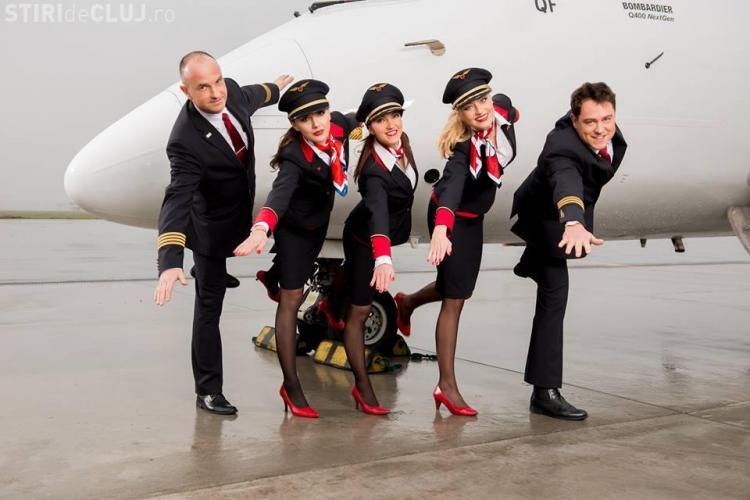 Cursă aeriană Cluj - Varşovia, din 27 octombrie. Care este orarul de zbor