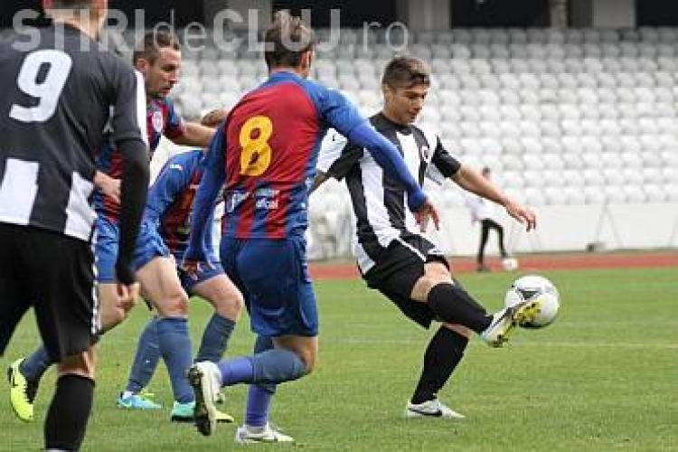 Andreas Calcan e jucătorul Universităţii Cluj. Steaua va primi 30% dintr-un eventual transfer