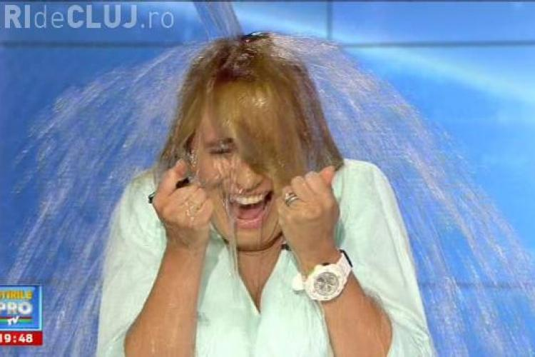 Andreea Esca acceptat provocarea Ice Bucket Challenge - FOTO