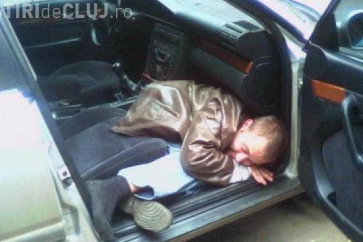RECORD de alcoolemie la Cluj! NU s-a putut da jos din mașină la filtrul de pe Traian Vuia