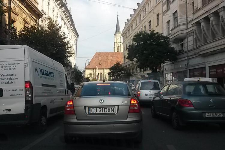 Clujul este PARALIZAT! A început ȘCOALA. Polițiștii ne-au spus ce pericol ne paște - FOTO