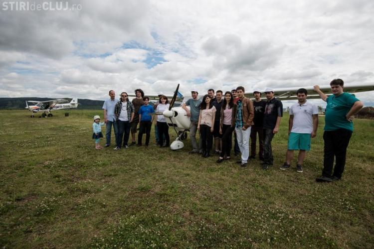 Cei mai deștepți studenți ai Clujului au zburat deasupra orașului. Sunt cei de la UBBots și BattleLab Robotica - FOTO