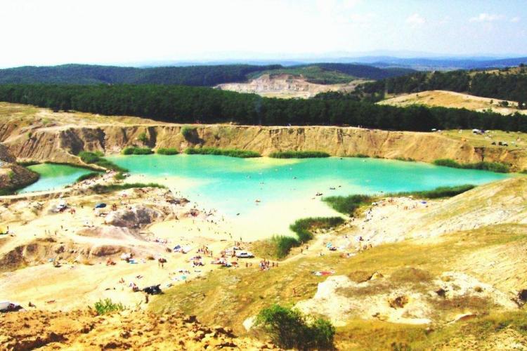 Laguna Albastră este oaza neexploatată a Clujului. Cum se poate ajunge acolo? - VIDEO