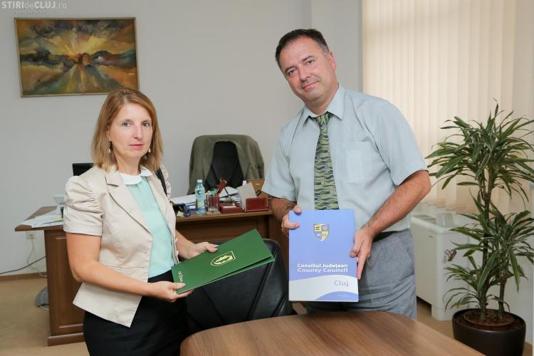 CJ Cluj a semnat contractul de garantare a împrumutului pentru Aeroportul Cluj - FOTO
