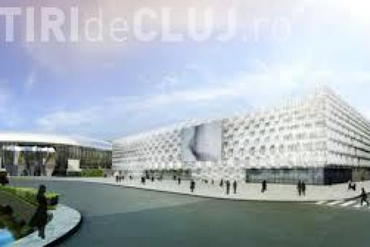 A fost instalat CUBUL VIDEO de la Sala Polivalentă. A costat 190.000 de euro - FOTO