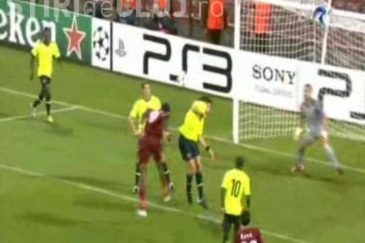 Vezi golul lui Lacina Traore - CFR Cluj - FC Basel 2-0 / Champions League - VIDEO