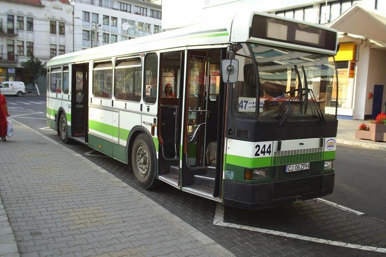RATUC Cluj a cumparat 15 autobuze folosite in Paris