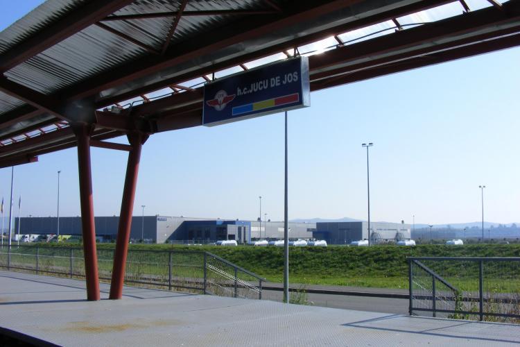 Trenul Nokia asteapta semnalul de pornire! Angajatii de la fabrica de la Jucu vor face naveta cu trenul
