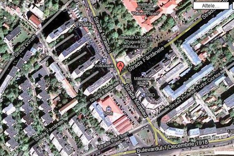 Noi reguli de circulatie in intersectia strazilor Miraslau - Fantanele, din cartierul Grigorescu