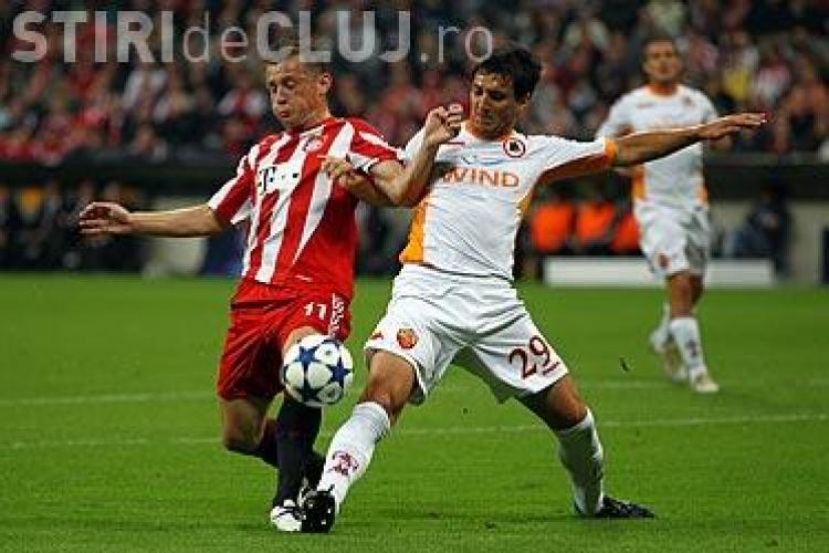 Bayern Munchen, pe primul loc in grupa E, dupa ce a invins cu 2-0 pe AS Roma. CFR e pe locul 2