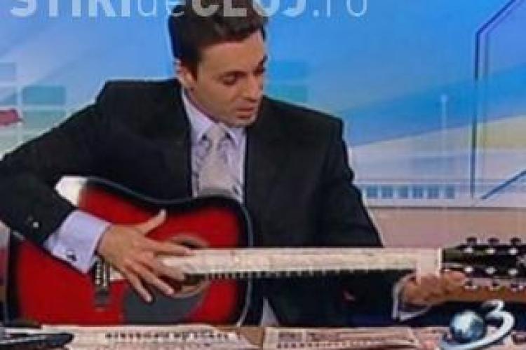 Mircea Badea va canta intr-un club din Bucuresti cu trupa Magnolia
