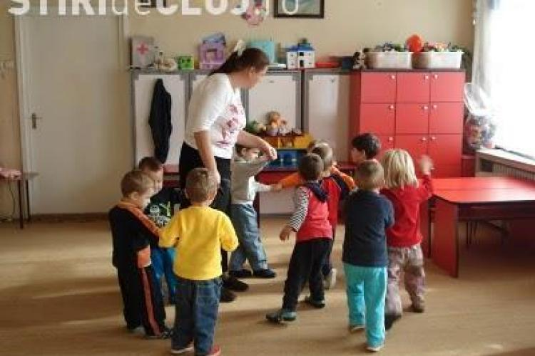 Copiii din Apahida, Floresti si Baciu vor veni la gradinita in Cluj-Napoca
