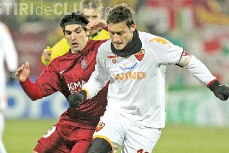 LIVE TEXT AS Roma - CFR Cluj 2-1 - VEZI cele trei goluri